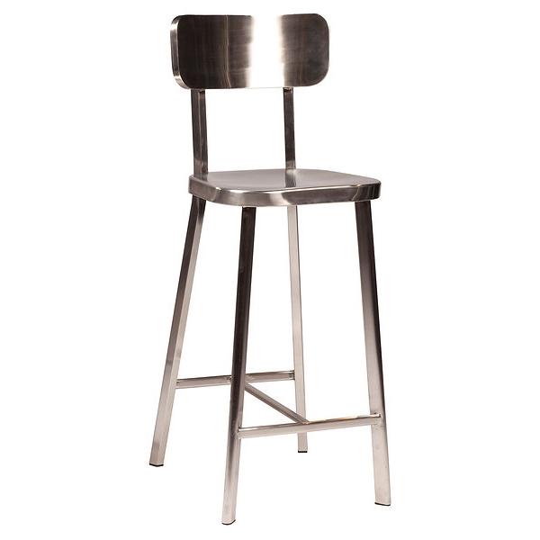 Tabouret de bar industriel atlanta pour mobilier design par espri - Mobilier industriel loft ...