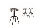 """Tabouret design industriel mobilier """"Seoul"""", Esprit Loft"""