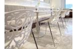 Lot de 4 chaises Venise Blanc