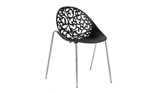 Chaise Venise Noire