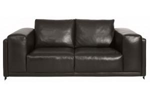 """Canapé cuir pour mobilier design """"Alto"""", Esprit Loft"""